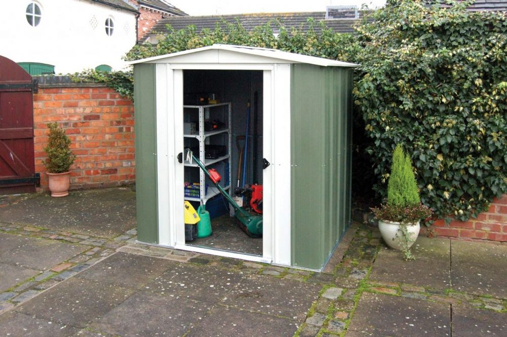 Rowlinson 8x6 Metal Apex Shed